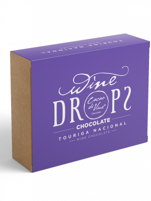 WineDrops - Chocolate de Vinho Touriga Nacional