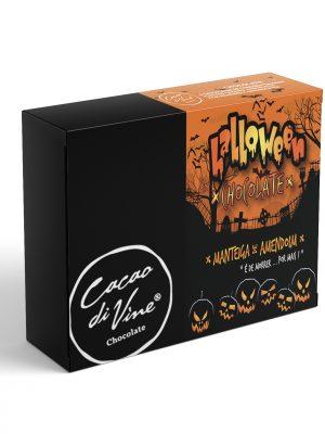 HALLOWEEN BOX 8 – BOMBONS DE MANTEIGA DE AMENDOIM